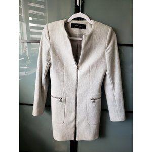 Zara Heather Grey Coat